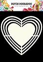 Dutch Doobadoo - Dutch Shape Art - Heart