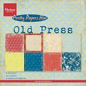 Paper Pad - Marianne Design - Old Press