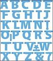 Creatable - Marianne Design - Alphabet Garland