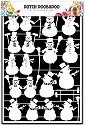 Dutch Doobadoo - Dutch Paper Art - Snowman