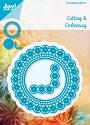 Noor! Design - Cutting & Embossingmal - Blauwe mal - Cirkel + hoek