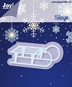 Noor! Design - Cutting & Embossingmal - Winter Wishes - Sleigh