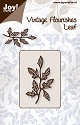 Noor! Design - Cuttingmal - Vintage Flourishes - Leaf 1