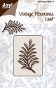 PRE-ORDER 3 - Noor! Design - Cuttingmal - Vintage Flourishes - Leaf 2