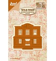 Joy! Crafts - Cutting & Embossing stencil - Wild West Saloon