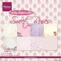 Marianne Design - Paperpad Sweet Roses