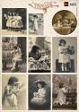 Marianne Design - Knipvel Vintage Flower Children 1