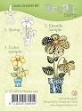 Clearstamp - LeCrea Lea�bilitie� - Doodle Stamp Flower Pot