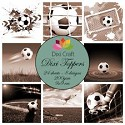 Dixi Craft - Vintage set - Football Sepia