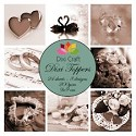 Dixi Craft - Vintage set - Wedding Sepia