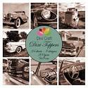 Dixi Craft - Vintage set - Cars Sepia