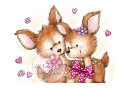 Clear Stamp Wild Rose Studio - A7 Bluebelle with Friend
