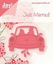 Noor! Design - Cutting & Embossingmal - Just Married - Auto