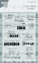 Joy! Crafts - Clearstamp - At the Sea tekst