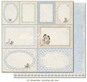 Maja Design - Vintage Baby - Journaling Cards blue