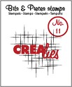 Clearstamp Crealies - Bits & Pieces - No 11 Sparkle