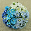 WOC Flowers - Sweetheart Blossom - Mixed Blue/White