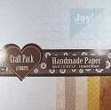 Joy! Crafts - Handmade Craft Paper Pack - 12 vel assortie