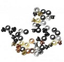 Eyelets Rayher - Rond 3mm � - assorti metallic