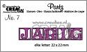 Stansmal - Crealies - Partz - JARIG