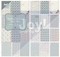 Paperbloc - 15 x 30 cm - Shabby Christmas