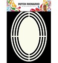 Dutch Doobadoo - Shape Art - Ovaal