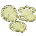 Nestabilities - Decorative Elements Dies - Fancy Framed Tags Four