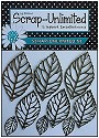 Scrap Unlimited - Mixed Media - Bronzen metalen blaadjes