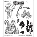Dylusions - Dyan Reaveley`s - Cling Stamps - Doodle Parts
