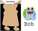 Dutch Doobadoo - Dutch MDF Art - Wackey Brothers Bob