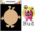 PRE-ORDER 4 - Dutch Doobadoo - Dutch MDF Art - Wackey Brothers Bud