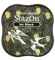 Stempelinkt - StazOn Midi - Jet Black