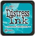 Distress Inkt - Mini - Peacock Feathers