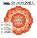 Stansmal - Crealies - Crea-nest-Lies XXL - nr 32