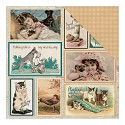Scrappapier Authentique - Devoted - Moments Vintage Pocket Cards