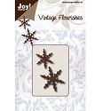 Noor! Design - Vintage Flourishes - Sneeuwvlok