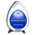 Stempelinkt - Memento - Dewdrop - Danube Blue