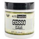Finnabair - Art Basics - Gesso Clear 8.5oz