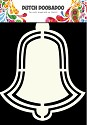 PRE-ORDER 5 - Dutch Doobadoo - Shape Art - Christmas Bell