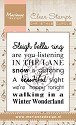 Marianne Design - Clearstamp Tekst - Winter Wonderland