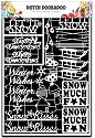 PRE-ORDER 1 - Dutch Doobadoo - Dutch Paper Art - Winter