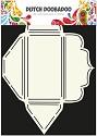 PRE-ORDER 1 - Dutch Doobadoo - Dutch Envelop Art - Scallop rechthoekig