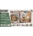 Studio Light - Kaartpakket Luxe gestansde kaarten - Industrial 04