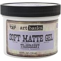 Finnabair - Art Basics - Soft Matte Gel - 8.5oz