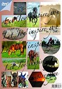 Joy! Crafts - Stansvel Card Toppers - Paarden