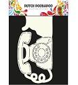 Dutch Doobadoo - Dutch Card Art - Phone