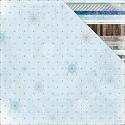 Scrappapier BoBunny - Whiteout - Glitter Frozen