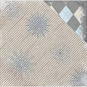 Scrappapier BoBunny - Whiteout - Glitter Glistening