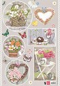 Knipvel Marianne Design - Country Style Hearts