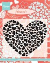 Clearstamp Marianne Design - Heart XL